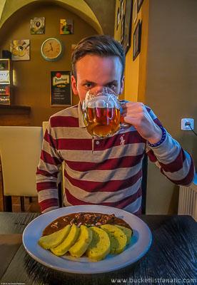 Drink a pilsner in Plzeň, Czech Republic - Food Bucket List