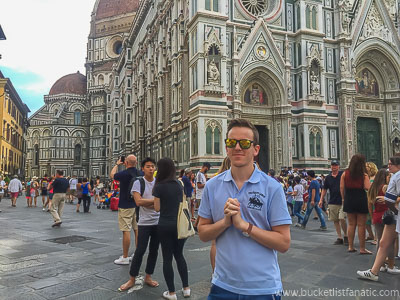 Visit Florence - Bucket List