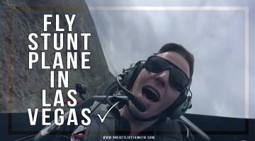 Fly Stunt Plane in Las Vegas, US ✓