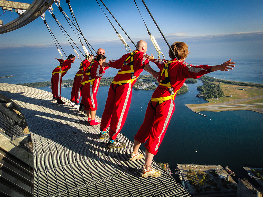 Edge Walk CN Tower - 50+ Heart-Pounding, Thrilling Activities for Daredevils