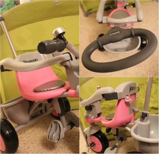 Pink Tricycoo Tricycle Joovy