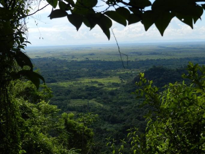 Top of Kunuku Mountain Range