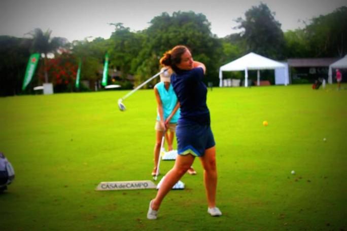 Golf Lesson at Casa de Campo