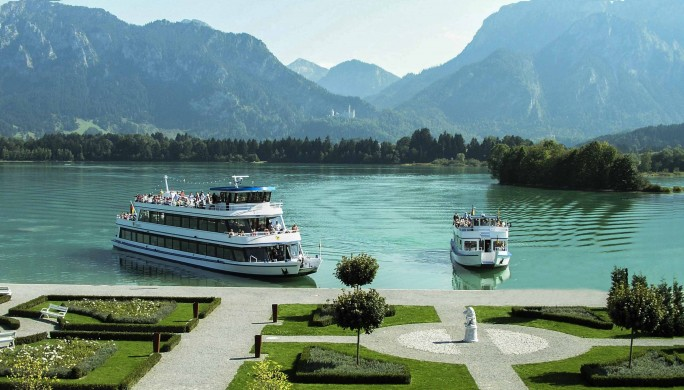 Lake Forggensee Boat Trip
