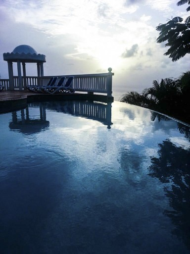 Windjammer Landing Private Pool View