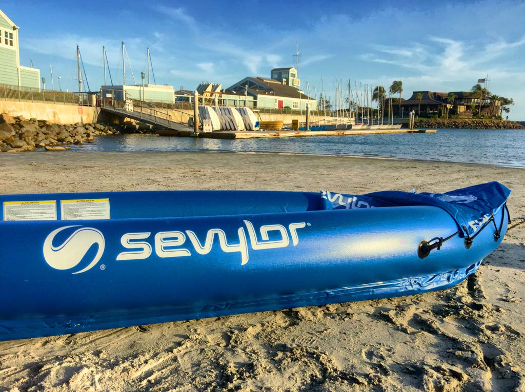 Sevylor Kayak on the Sand