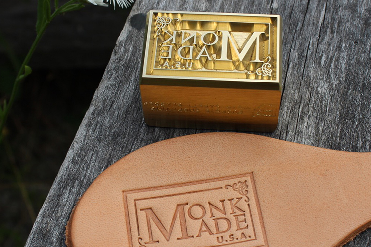 Monk Made USA Leather Stamp
