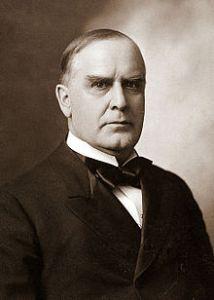 President William McKInley, one of many U.S. Presidents with Scots-Irish ancestry.