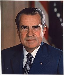 Not a fan: Mary Lee Settle left the country after Richard Nixon became President, and returned just weeks after he resigned.
