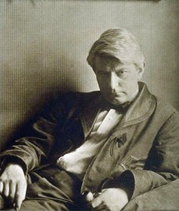 Novelist--and champion of Theodore Dreiser--Frank Norris.