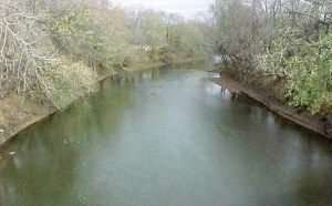 Spoon River in Illinois.
