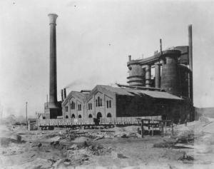 Big Etna coke furnace in Ironton, Ohio. Photo courtesy of Appalachianhistory.net.