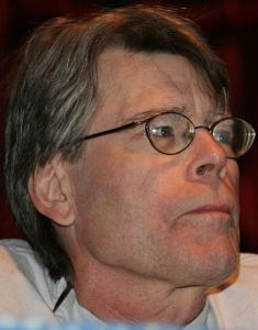 Stephen King has written a number of novellas, two of which have been made into films (photo courtesy of Pinguino via Wikipedia Commons and Flickr.