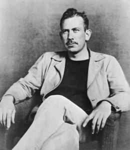 John Steinbeck--some of his works fit into the novella category. You would be in good company if you took this form on. (photo by Hulton Archive/Getty).