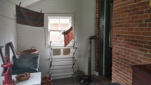 Summer kitchen in Dunbar home.
