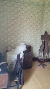 Matilda Dunbar's sewing room.