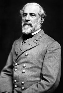 General Robert E. Lee, later President of the Confederate States of America.