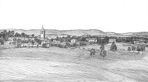 Sketch of Lincoln Memorial University from 1915.