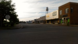 Richland, Missouri: a Midwestern town that's seen better days.
