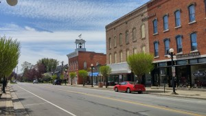 Clyde, Ohio (author's photo)