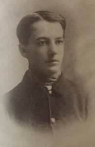 """Sherwood Anderson as an Ohio National Guardsman during the Spanish-American War. Photo from Walter Rideout's """"Sherwood Anderson: A Writer In America, Volume 1."""""""