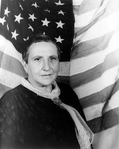 Carl van Vechten photo of Gertrude Stein