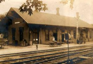 The old depot in Clyde.