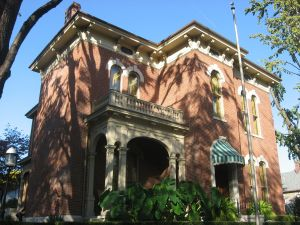 The James Whitcomb Riley Home in Indianapolis.