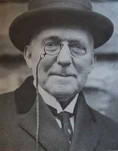 James Whitcomb Riley in Cincinnati in 1913.