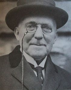 James Whitcomb Riley in Cincinnati in 1913.