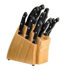 Knives Kitchen Tuscan Canisters 13 Piece Cutlery Set Buck Official Site