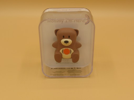Teddy Tag™ Bluetooth™ Wearable Smart Child Locator (Brown)