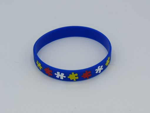 Autism Awareness Wristband back