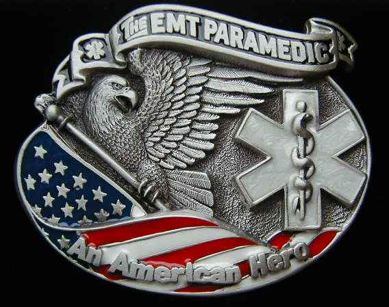 "4203E The EMT Paramedic An American Hero 3 3/8"" by 2 3/4"""
