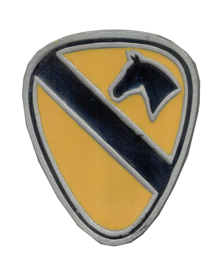 Cavalry 1st Belt Buckles