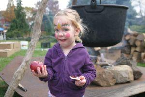 Apple afictionada at Peddler's Village