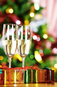 Holiday Champagne; photo by MSClipArt