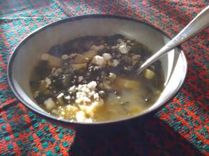 Green stew; photo by E. Villarroel