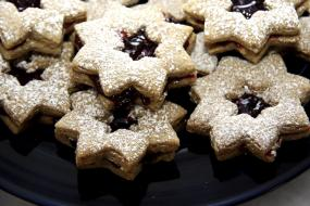 Holiday cookies; MSClipArt