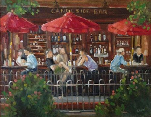 Lambertville Station Canal Side Bar