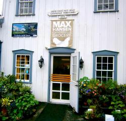 Max Hansen Carversville Grocery Store entrance