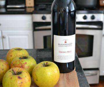 Diego Red Wine; photo by K. Madey
