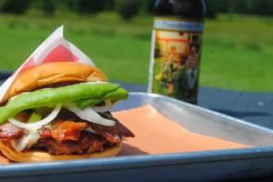 MOO burger and beer