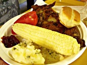 Grange Fair Chicken BBQ Dinner