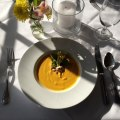 Butternut Squash Soup at the Golden Pheasant Inn