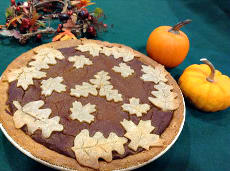 pumpkin gluten free pie_Wendy Yurgosky_vegan pumpkin pie