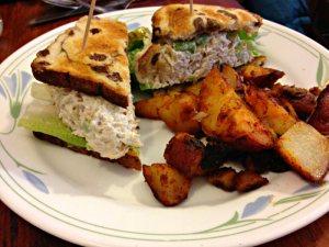Chicken Salad on Raisin Toast_Pat's Colonial Kitchen