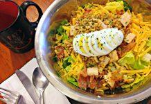 Salad at Pat's Colonial Kitchen