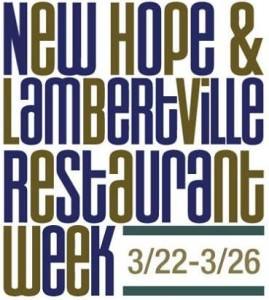 New Hope & Lambertville Restaurant Week 2015