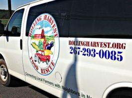 Rolling Harvest Food Rescue. Photo credit Lynne Goldman